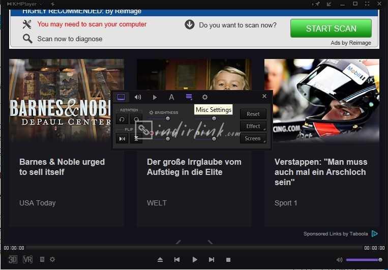 KMPlayer – Kodekli Video / Müzik Oynatıcı