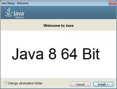 Java 8 64 Bit Türkçe Update 141