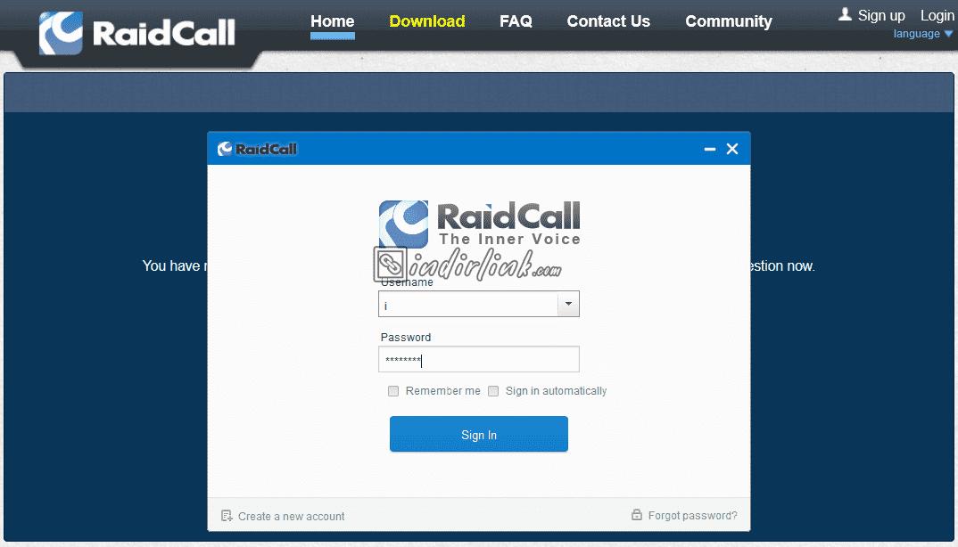 RaidCall – Toplu Görüşme Programı