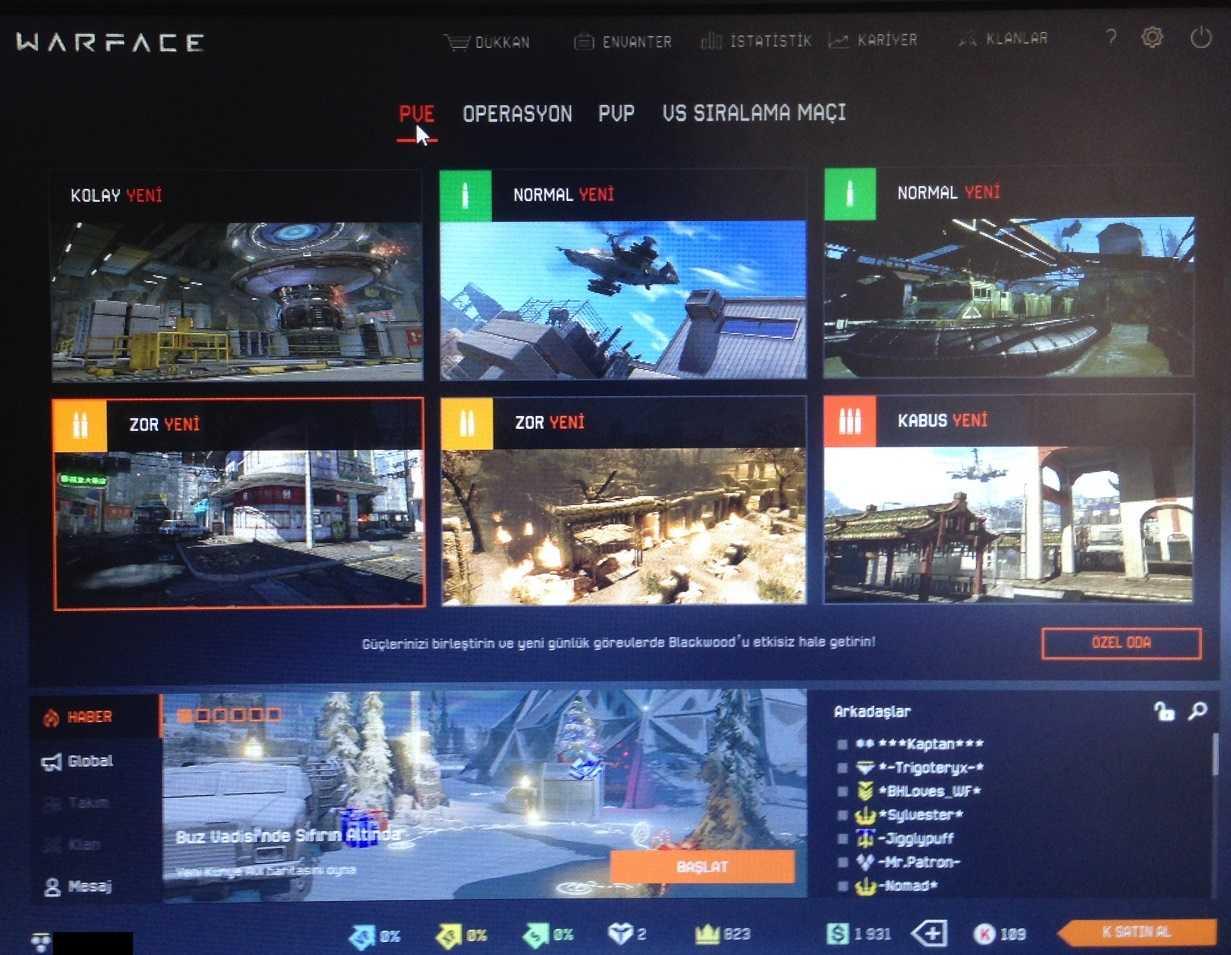 Warface Türkiye – Türkçe (Online Savaş Oyunu)