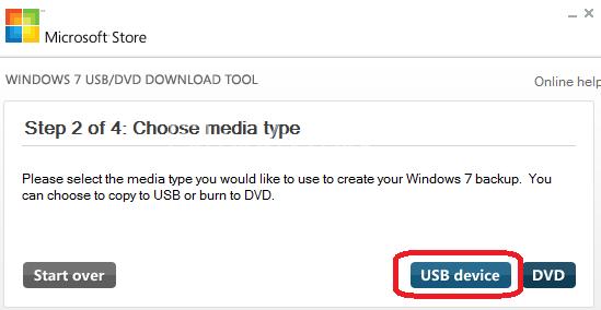 Windows USB/DVD Download Tool – ISO Dosyasını USB Disk ve DVD'ye Yazma Programı