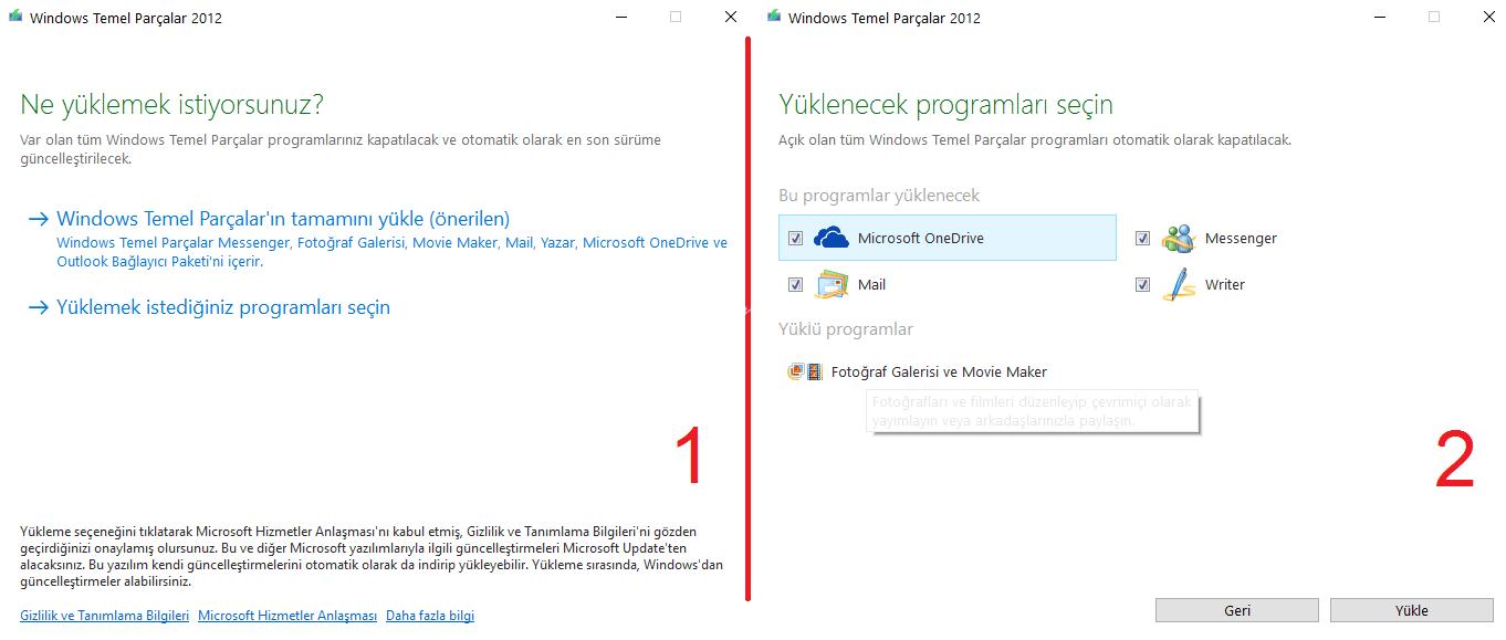 Windows 7 ve 8 için Movie Maker (Windows Essential 2012)