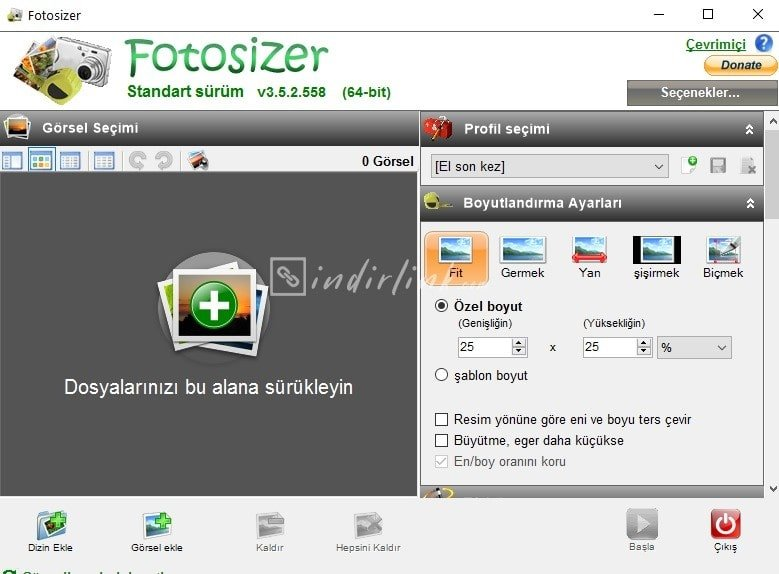Fotosizer – Batch Photo Sizing Program