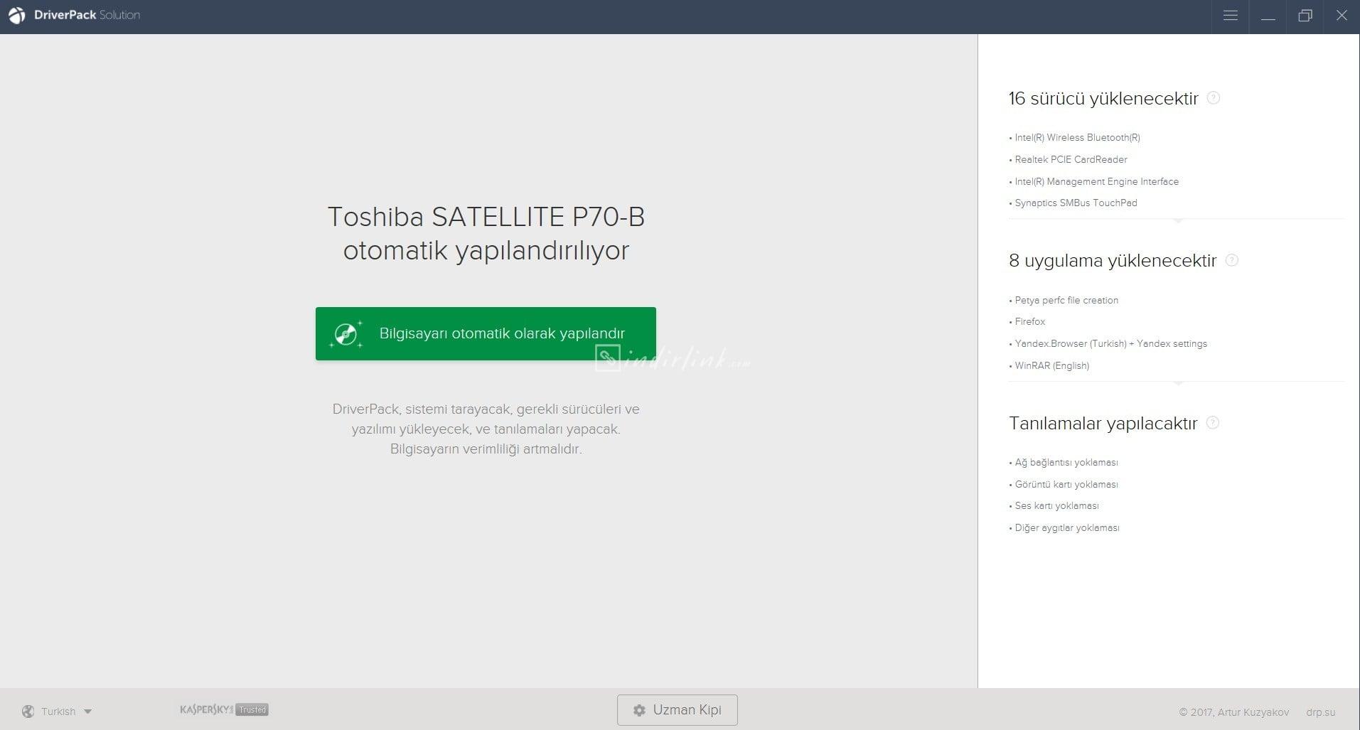 DriverPack Solution – Otomatik Driver Güncelleme Programı (Ücretsiz)