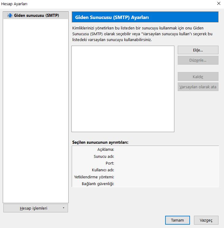 Mozilla Thunderbird – Outlook Alternatifi Türkçe Mail Programı