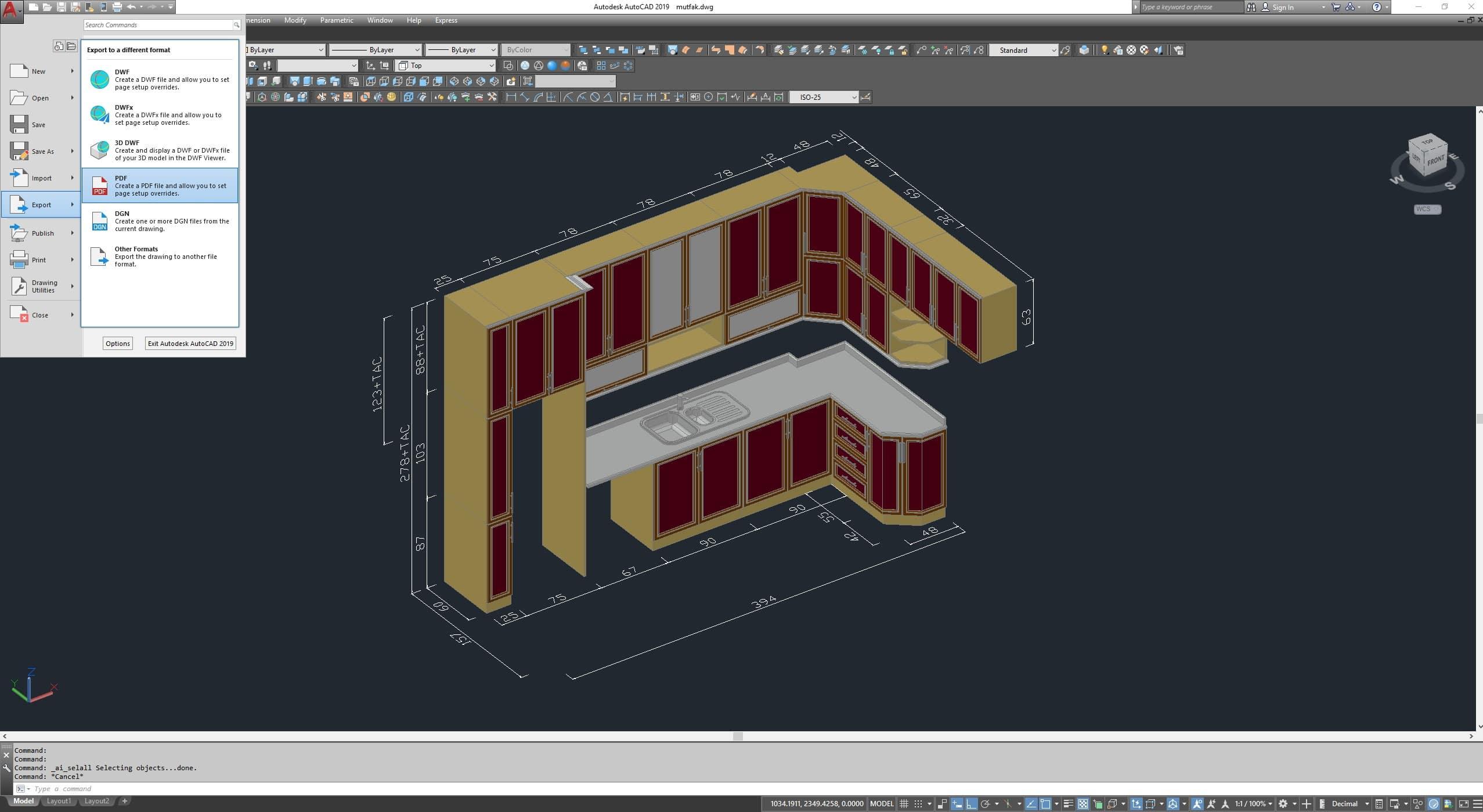 Autodesk AutoCAD 2019 + 2 ve 3 boyut çizim yapabileceğiniz en verimli teknik çizim programı