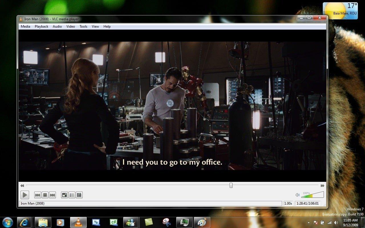 VLC media player + Çok amaçlı video oynatıcı ve ip tv link oynatıcı program