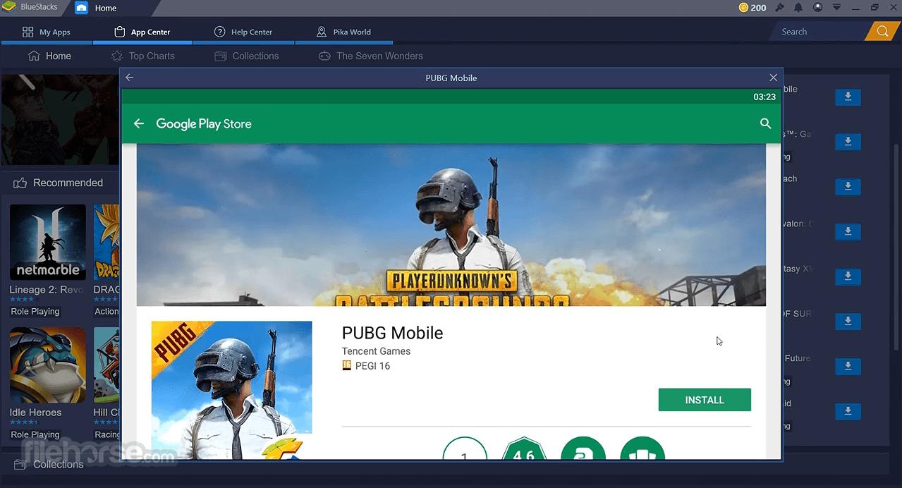 BlueStacks + Android Emülatörleri Oyun için Mükemmel