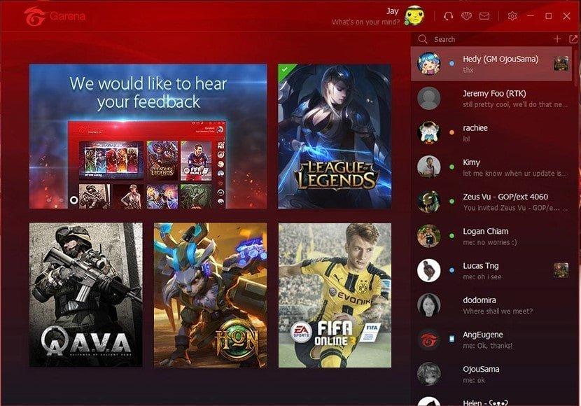 Garena + Çevrimiçi Rakip Bulun Oynayın