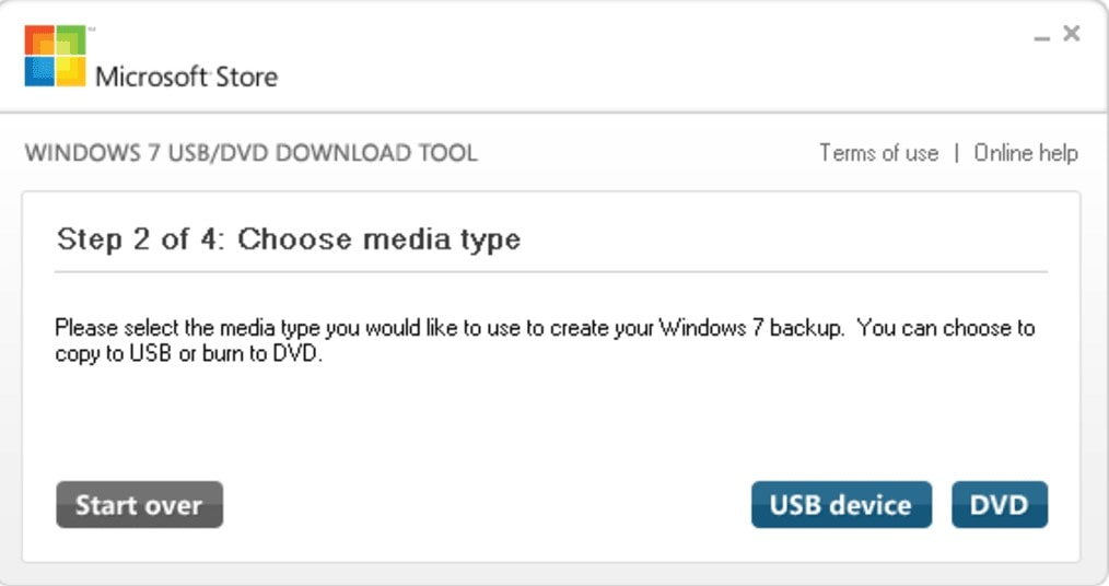 Windows 7 USB/DVD Download Tool – Flash Bellekten ve Dvd 'den Windows