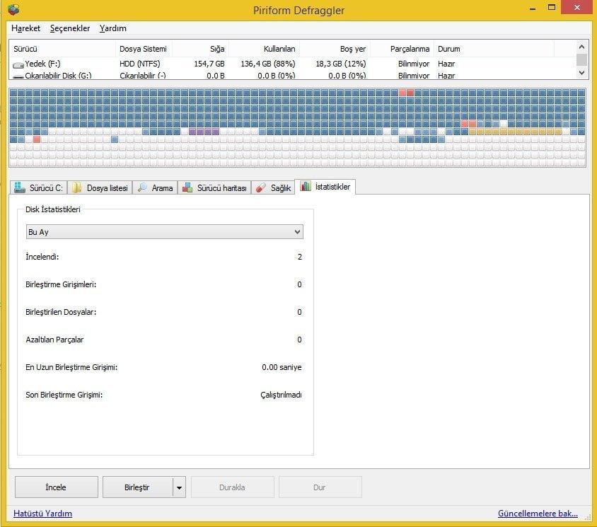 Defraggler v2.17.898 – Disk Dosya Birleştirme Programı