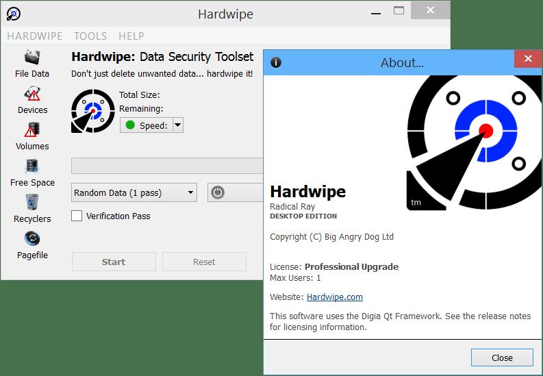 Hardwipe 5.0.5 Secure File Deletion Program