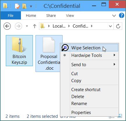Hardwipe 5.0.5 Güvenli Dosya Silme Programı