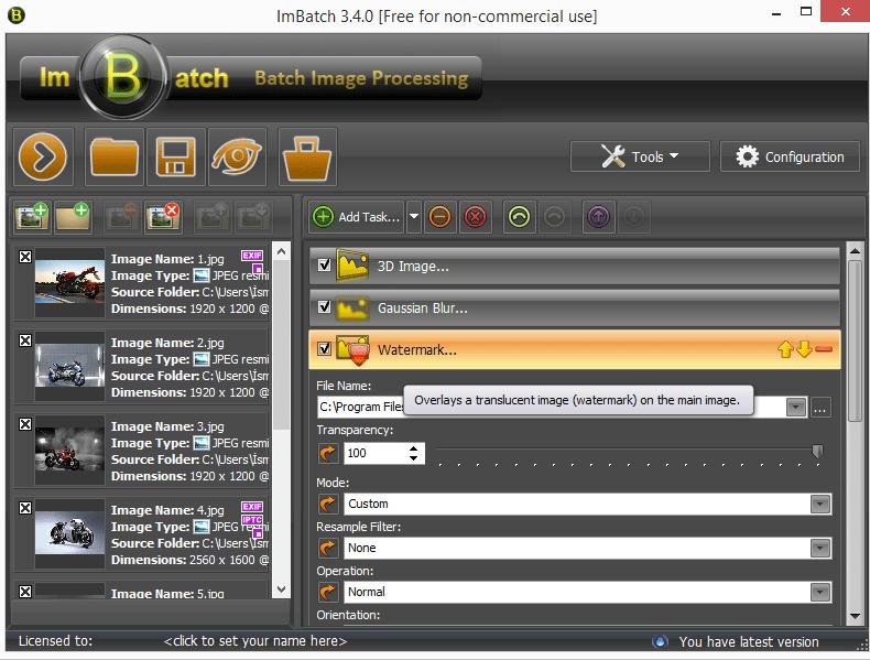 ImBatch 3.4.0 – Toplu Resim Düzenleme Programı