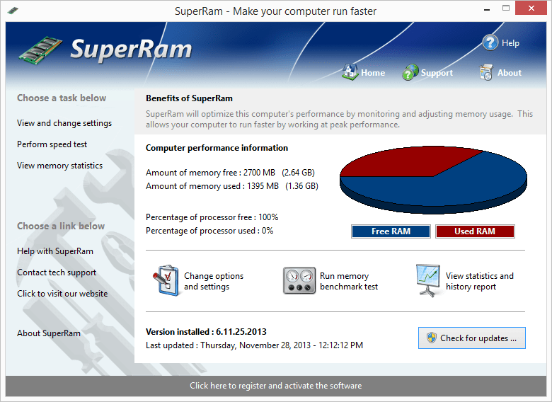 SuperRam v7 – Bilgisayara Ram Ekleme ve Optimizasyon Programı