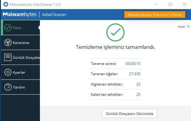AdwCleaner v7.3.0- Download Virus Program – No Installation Required.