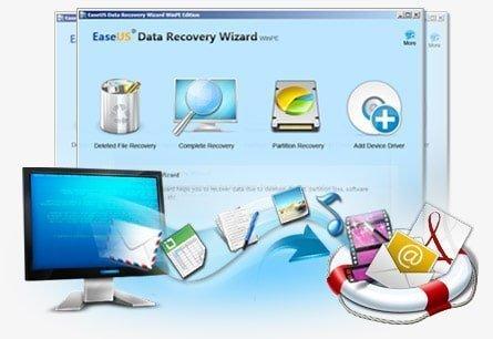 Easeus Data Recovery Wizard 7.0 – Ücretsiz Veri Kurtarma Programı