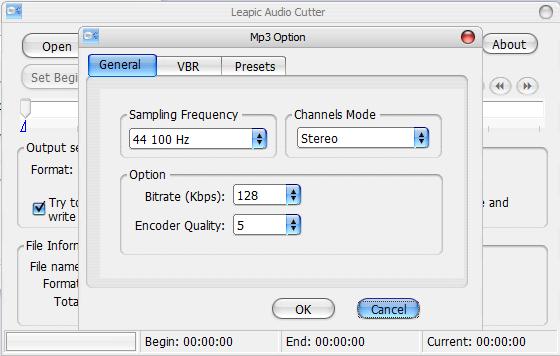 Leapic Audio Cutter – MP3 Music Audio Cut and Convert Program