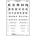 mesafeli görme keskinliği testi Harfler KCRHN
