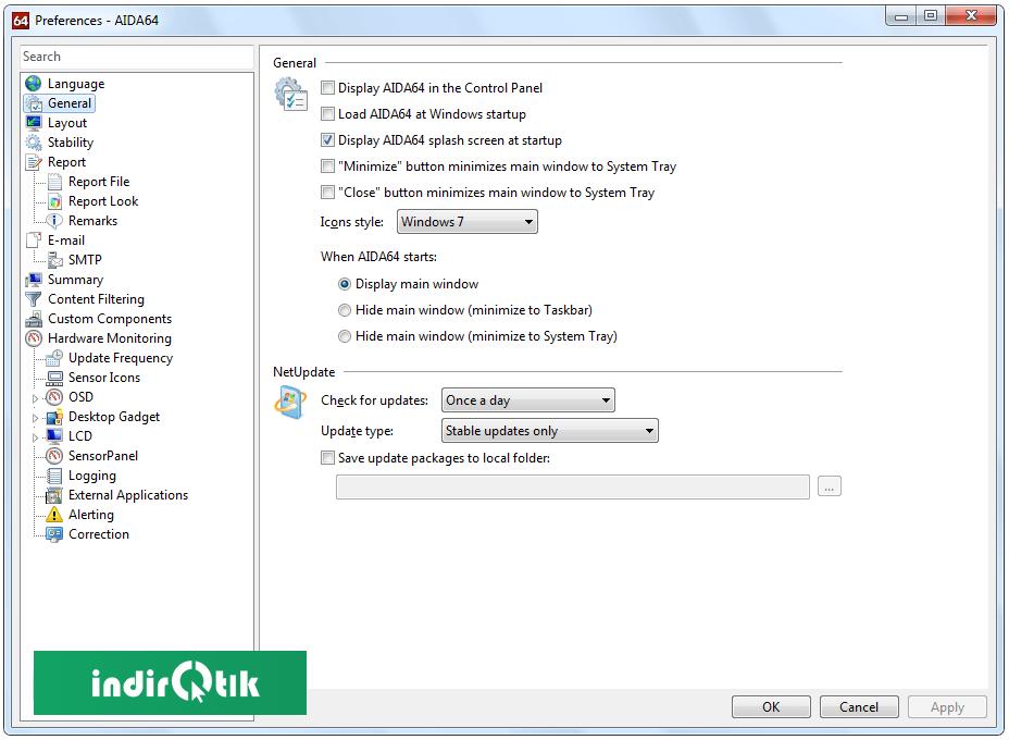 AIDA64 Extreme Sürümü – AIDA64 Extreme Edition 6.00