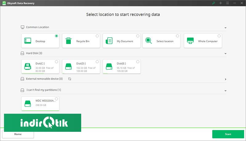 iSkysoft Data Recovery 5.0
