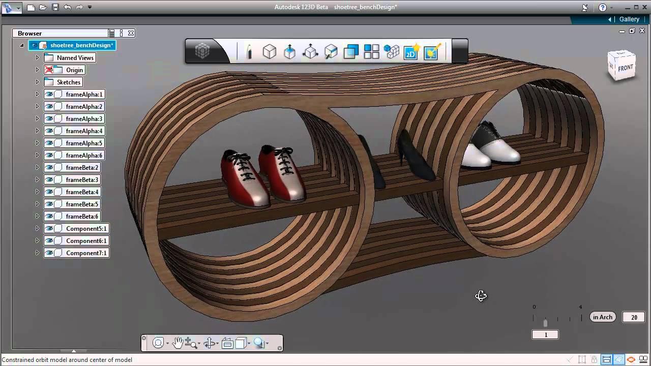 Autodesk 123D Design 2.2.14 (64-bit) – (32-bit)