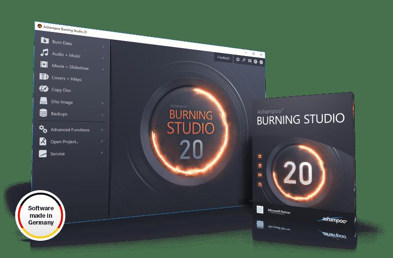 Ashampoo Burning Studio 20.0.4