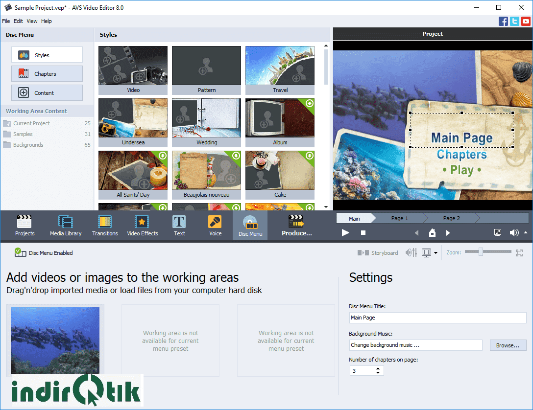 AVS Video Editor 9.1.1