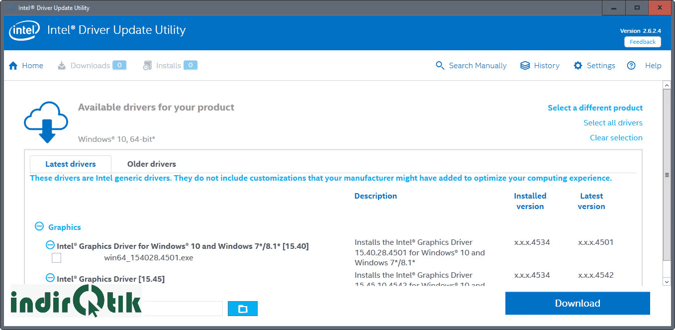 Intel Driver & Support Assistant 19.9.38.6