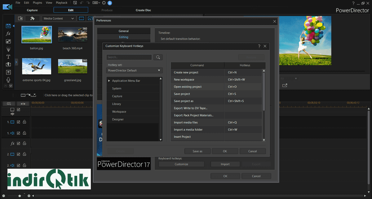 PowerDirector 17 Build 3005