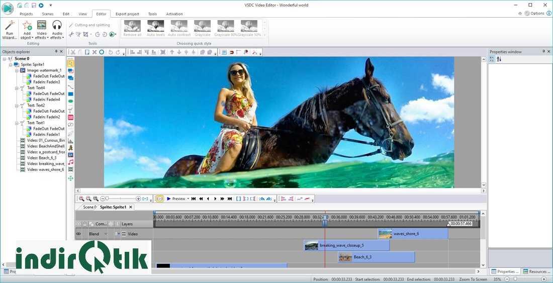 VSDC Free Video Editor 6.3.8.46 (64-bit) – (32-bit)