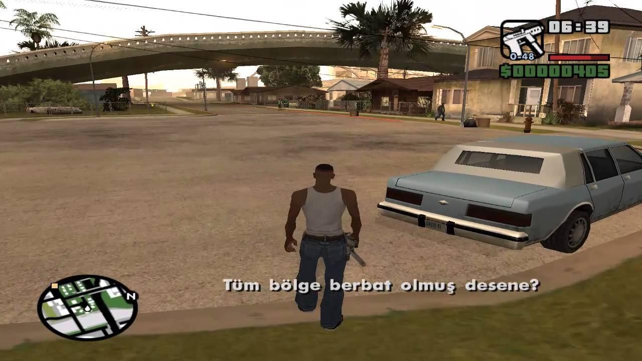 GTA San Andreas Türkçe Yama 3