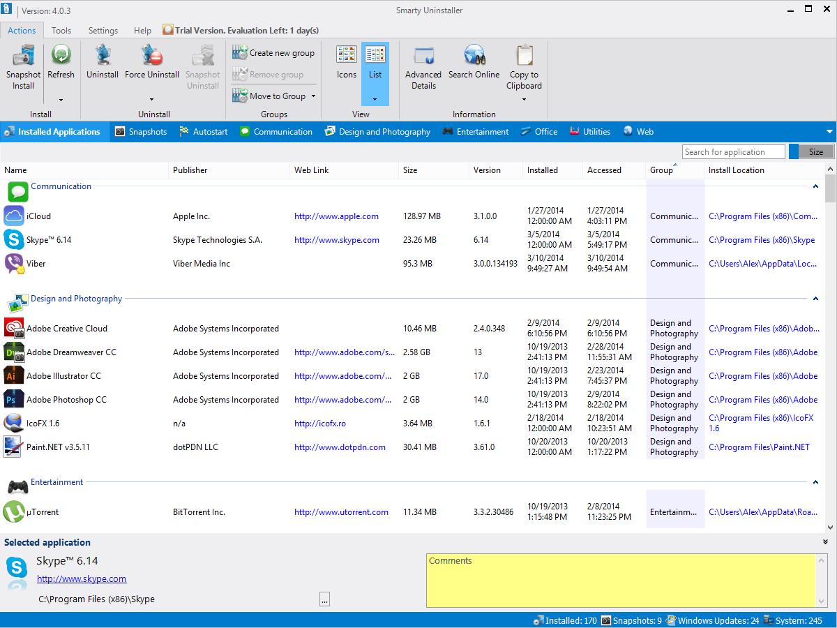 Smarty Uninstaller Pro 4.9.5