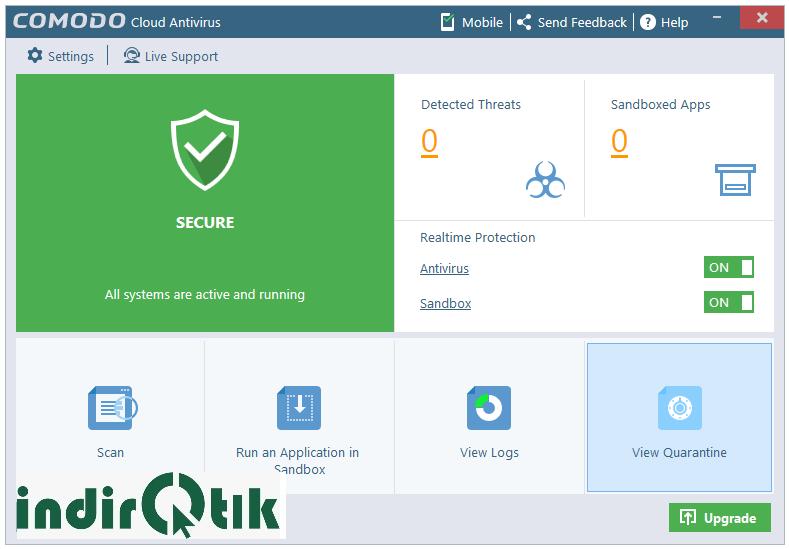 Comodo Cloud Antivirus 1.21 – Antivirus program