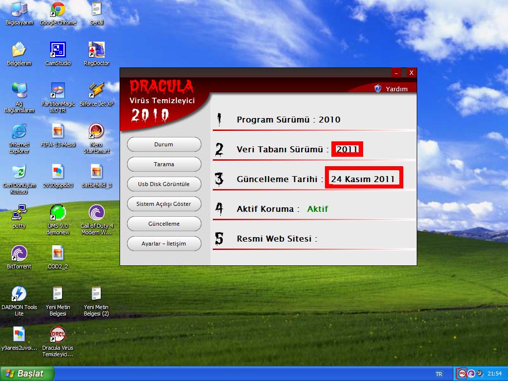 Dracula Virus Cleaner 2010