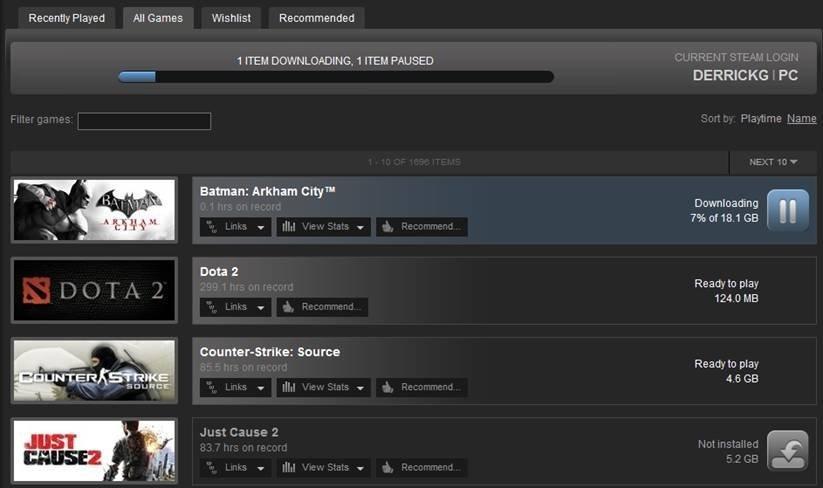 Effective Game Download Software: Steam