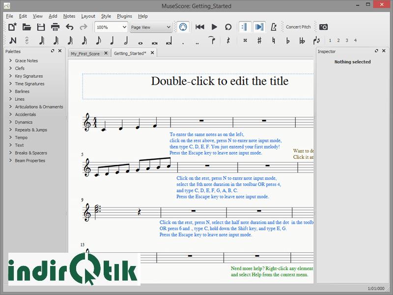 MuseScore 3.3.2- Free Note Writing and Music Creation Program