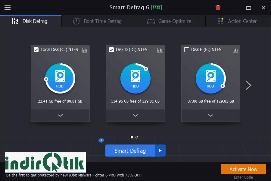 Smart Defrag – Defragmentation and Disk Performance Improvement Software