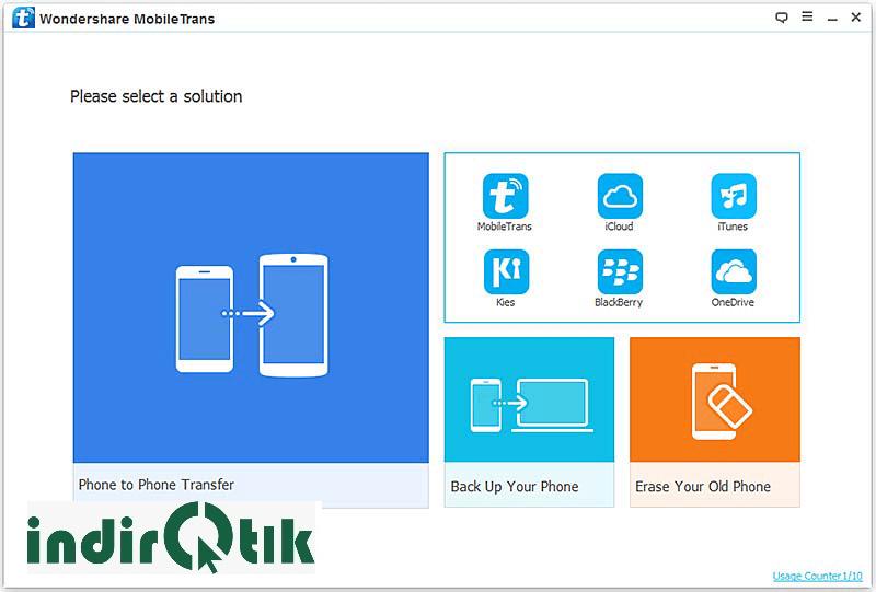Wondershare MobileTrans 8.1.0