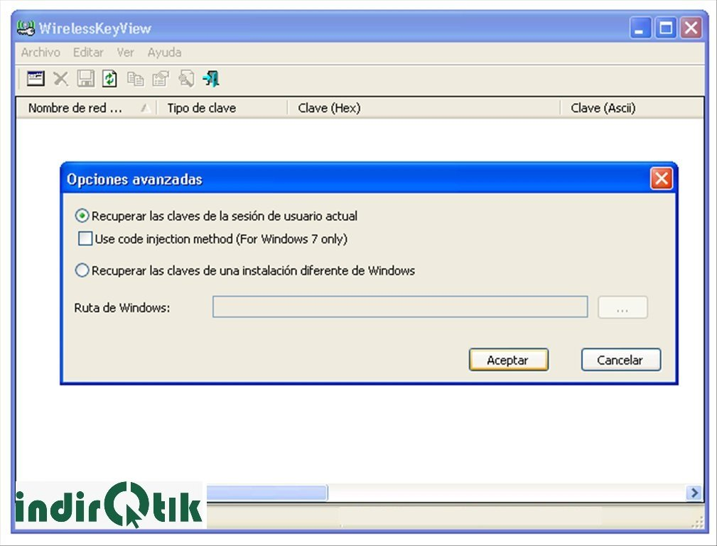 WirelessKeyView 2.11 – Windows ve Mac'te Wi-Fi Şifreleri Bulma Programı