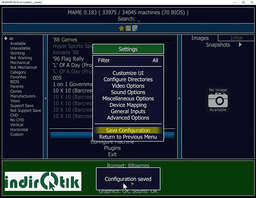 MAME 0.218 Игровой эмулятор
